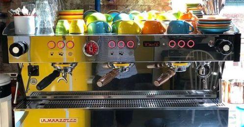 Coffee machine at Tucker