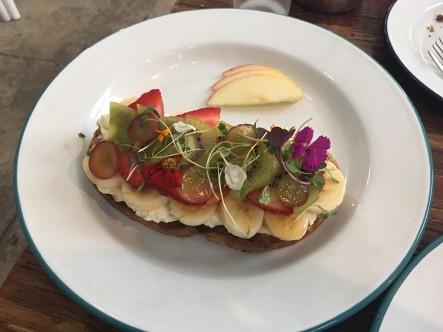 Flower toast