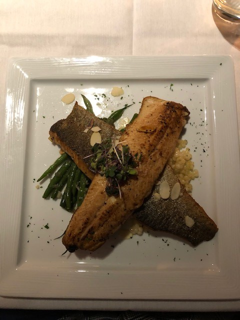 Trout entree